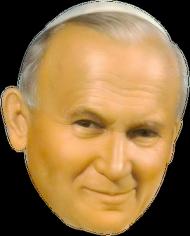 Jan Paweł II Papież Mini koszulka (różne kolory)