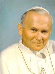 Jan Paweł II Papież klapki japonki