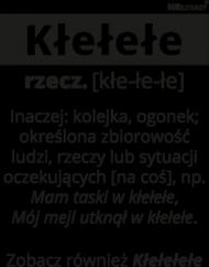 KŁEŁEŁE Definicja Damska - Biała