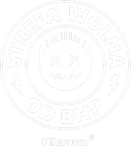 Strefa wolna od BHP - Emoji Damska Czarna