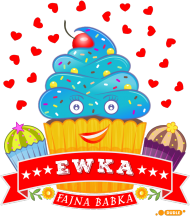Ewka Fajna Babka - Worek gimnastyczny A3 z imieniem