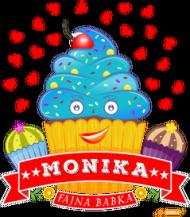 Monika Fajna Babka - Kubek magiczny z imieniem