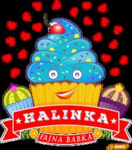 Halinka Fajna Babka - Kubek magiczny z imieniem
