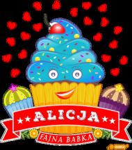 Alicja Fajna Babka - Kubek kolor z imieniem