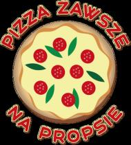 Pizza Zawsze Na Propsie - Kubek z sercem