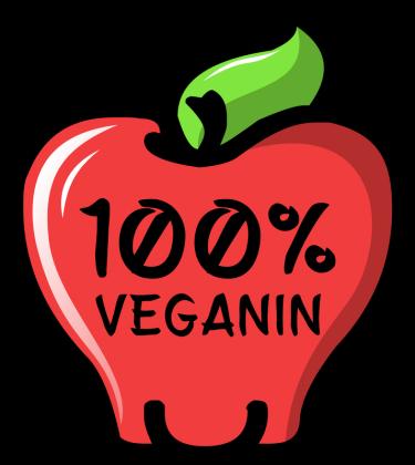 100% Veganin - Fartuch kuchenny dziecięcy
