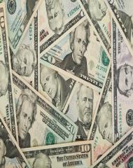 Komin wielofunkcyjny pieniądze Dolary