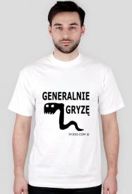 Generalnie gryzę - koszulka męska ryjoo