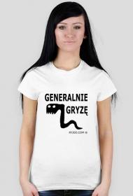 Generalnie gryzę - koszulka damska ryjoo