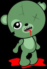Miś Zombie
