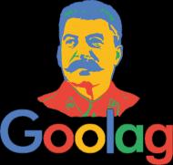 Koszulka męska Goolag - parodia firmy Google