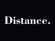 Maseczka Distance.