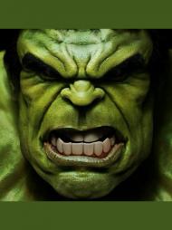 Maseczka Hulk