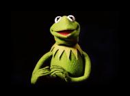 Maseczka Kermit