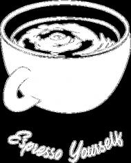 Kubek metaliczny Espresso Yourself