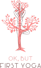 Koszulka damska V-neck First Yoga Tree