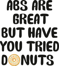 Bluza damska ABS are great but have you tried donuts - szara