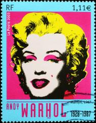 Bluza męska Marilyn znaczek - czarna