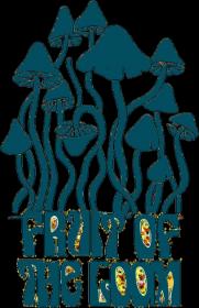 Bluza dziewczęca z kapturem Mushrooms Fruit