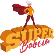Fartuch kuchenny - Super Babcia (Prezent na Dzień Babci)