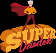 Fartuch kuchenny - Super Dziadek (Prezent na Dzień Dziadka)