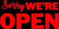Bluza - We're OPEN (Strajk Przedsiębiorców)