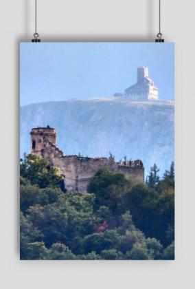 Plakat Karkonosze - Śnieżne Kotły i Chojnik