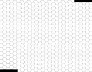 Maseczka scarlxrd biała white hexagon