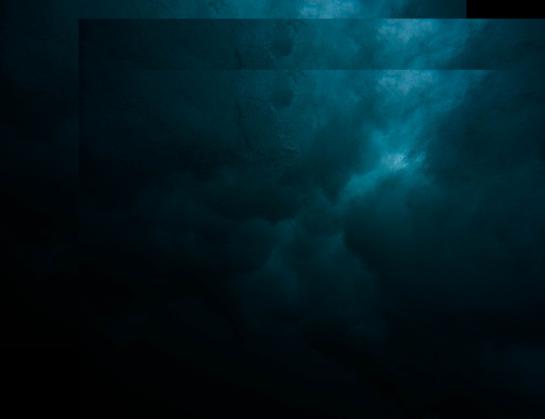 Maseczka scarlxrd Niebieska burza / Blue Thunder