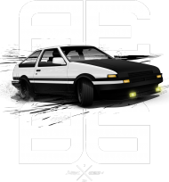 INITIAL D - AE86 HACHIROKU