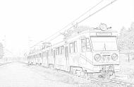 Bluza EN94 szkic