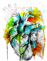 Heart Bluza