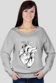 Minimal Heart Bluza