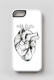 Minimal Heart Etui iPhone 5/5s