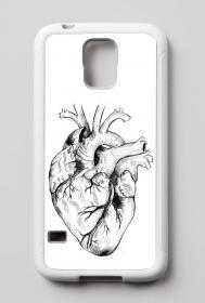 Minimal Heart Etui Samsung Galaxy S5