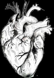 Minimal Heart Torba