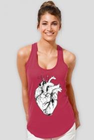 Minimal Heart Koszulka Sportowa