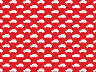 Maseczka Maluszki czerwona