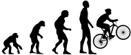 Maseczka Ochronna Ewolucja Rower