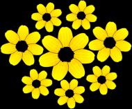 Maseczka Ochronna Słoneczniki