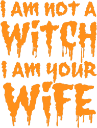 BLUZA HALLOWEEN I AM NOT A WITCH