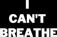 Koszulka męska I Can't Breathe kolor czarny