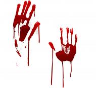 KOSZULKA MĘSKA HALLOWEEN BLOODY HANDS