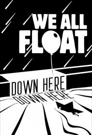 KOSZULKA DZIECIĘCA FLUORESCENCYJNA WE ALL FLOAT DOWN HERE
