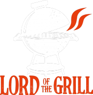 Koszulka Męska - Lord of The Grill (Prezent dla Taty)