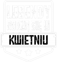 Koszulka Męska - Legendy Kwiecień