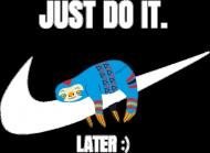 Koszulka Męska - Just Do It Later