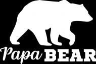 Czapka - Tata Bear (Prezent na Dzień Ojca)