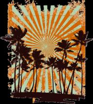 Koszulka Damska - Palms