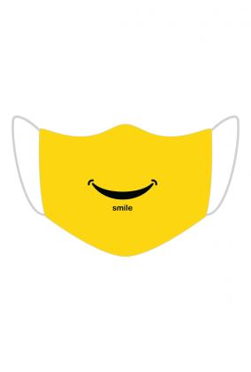 MASECZKA BAWEŁNIANA - YELLOW SMILE